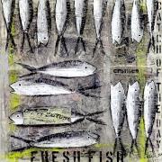Fischmarkt 100 x 100cm